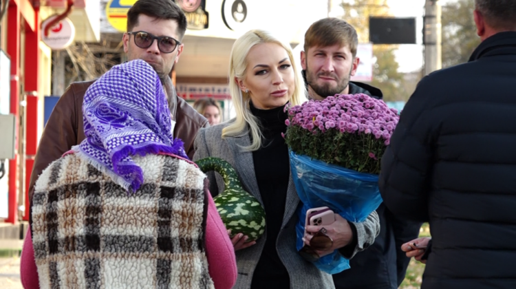 """VIDEO Marina Tauber își caută apartament sau casă la Bălți! """"Am cerut sfatul mai multor bălțeni"""""""