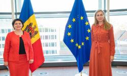 Natalia Gavrilița și eurocomisara Kadri Simson, despre diversificarea resurselor energetice