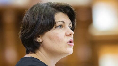 Deputații se întrunesc în ședință! Prim-ministra Natalia Gavrilița merge azi în Parlament. Ce le va cere?