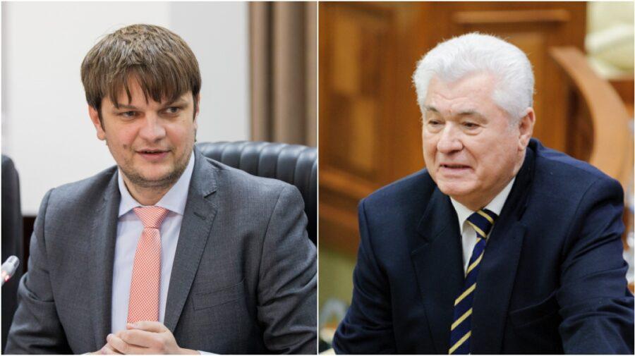 """VIDEO Ce-i cu gazul?! Voronin i-a dat nasul în jos lui Spînu: """"El îi tânăr și eu am să-i fac скидкa"""""""