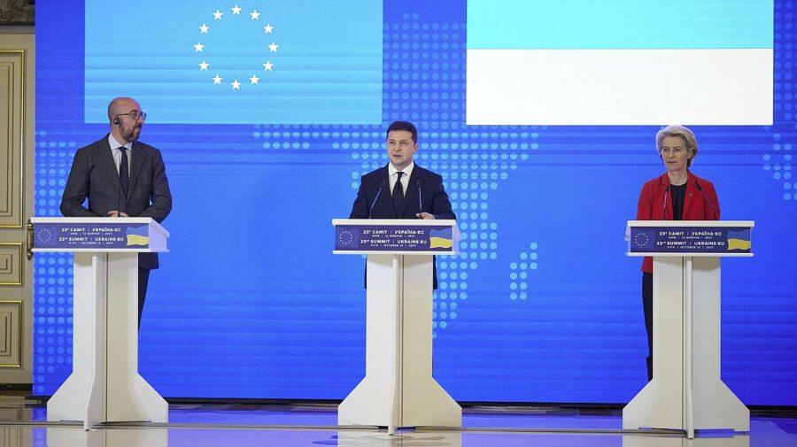 Pericole privind securitatea energetică anunțate de Ucraina, la Summitul cu UE