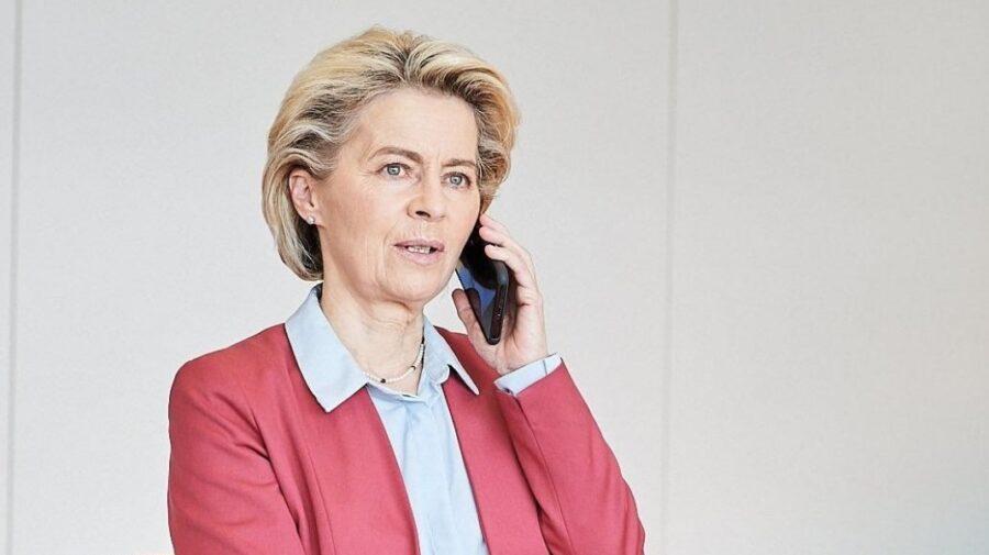 Alo… Ursula von der Leyen de la UE a avut o convorbire telefonică cu Maia Sandu despre aprovizionarea cu gaze