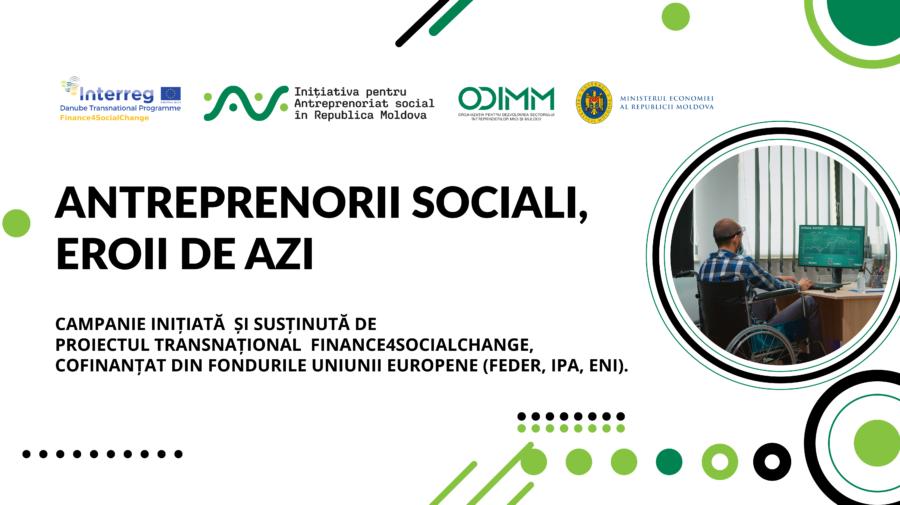 VIDEO Antreprenoriatul social va fi promovat și dezvoltat altfel în Moldova. Află despre campania inițiată de ODIMM