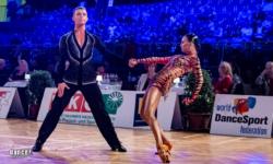 Dansatorii moldoveni, pe podium! Vladislav Untu și Polina Baryshnikova se întorc acasă cu medalia de argint