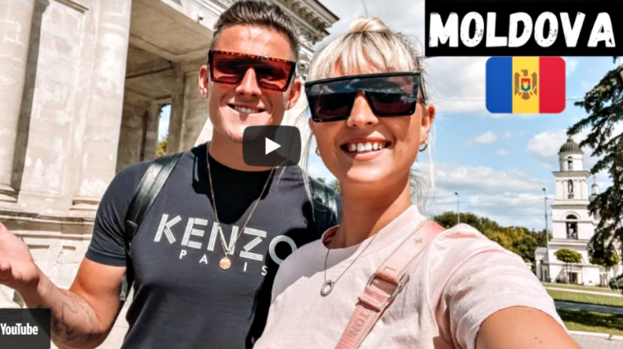 VIDEO Molly și Matt, în Moldova. Primele impresii a doi englezi care ne-au vizitat țara pentru prima dată!