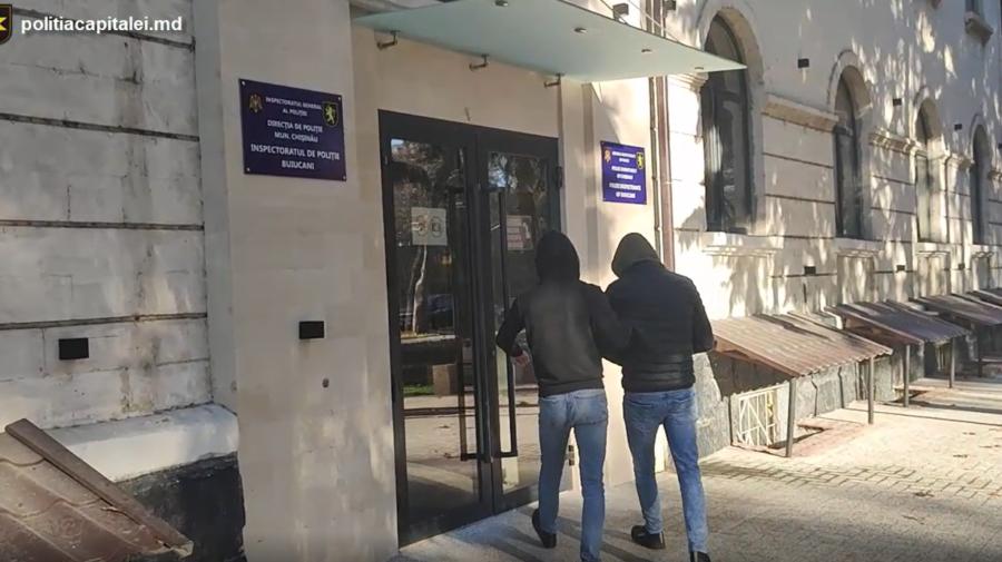 VIDEO Nu s-a liniștit! Individ din Capitală, din nou pe mâna poliției. Ce a făcut de data asta