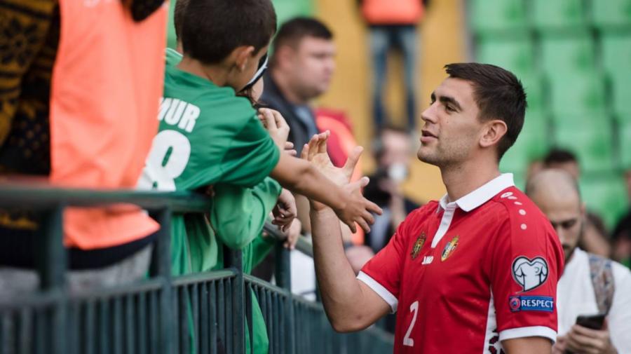 VIDEO A plâns în hohote! Igor Armaș s-a retras din echipa Națională. Motivul invocat de căpitan
