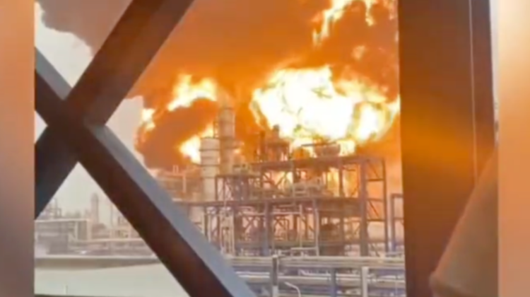 VIDEO Explozie ruptă din filmele fantastice! O persoană a dispărut fără urmă