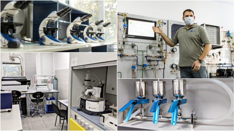 FOTO, VIDEO 10 laboratoare renovate au fost inaugurate la UTM datorită unei investiții în valoare de 2 mil. de euro