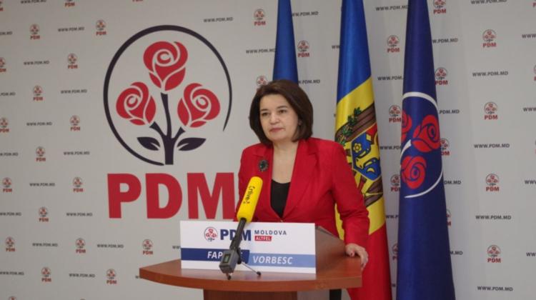Monica Babuc va asigura interimatul Partidului Democrat din Moldova. Până când