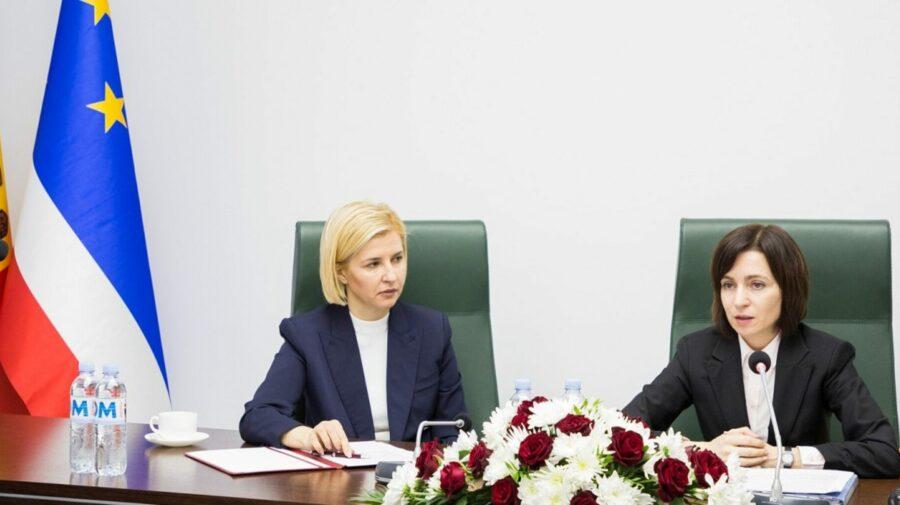 """VIDEO Bașcanul Irina Vlah, acuzații grave la adresa Maiei Sandu: """"Am auzit o minciună din partea președintei"""""""