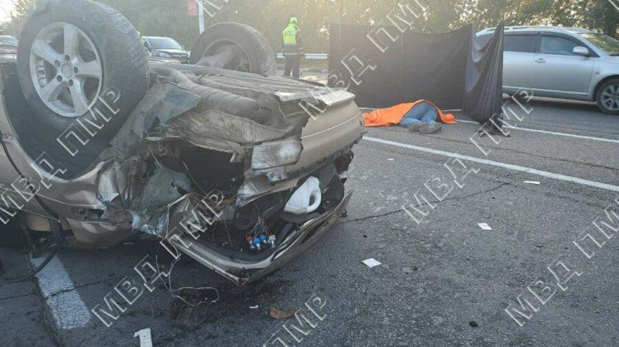 VIDEO Accident fatal la Tiraspol. Un șofer a decedat pe loc, iar poliția solicită ajutorul martorilor. Pentru ce