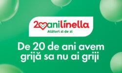 Linella celebrează 20 ani cu promoții și premii aniversare