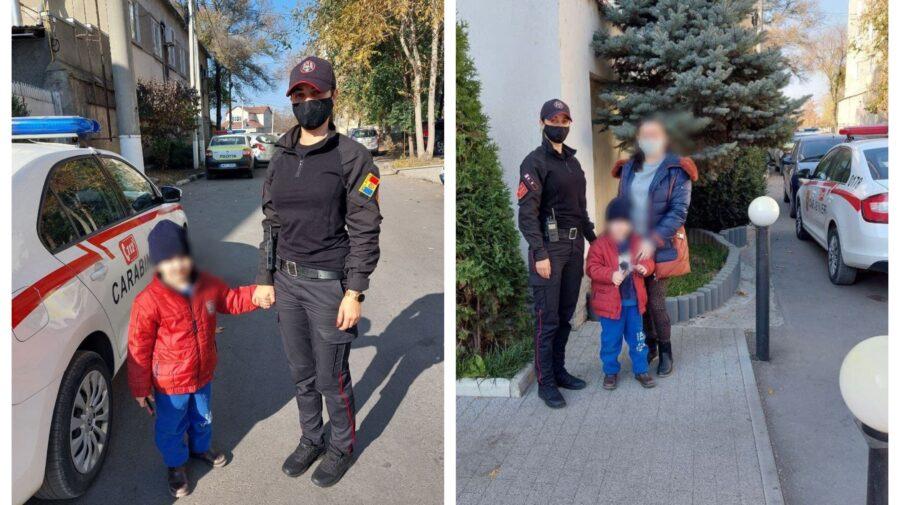 O familie din Bălți, în ALERTĂ! Și-au pierdut copilul pe străzile din oraș