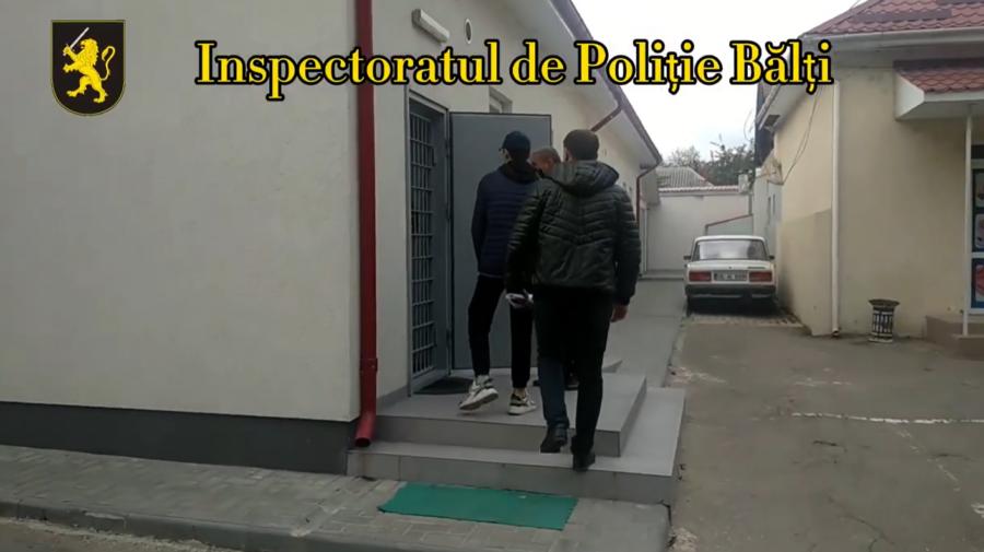 VIDEO Plânge pușcăria după ei. Minori din Bălți, reținuți pentru săvârșirea unei infracțiuni