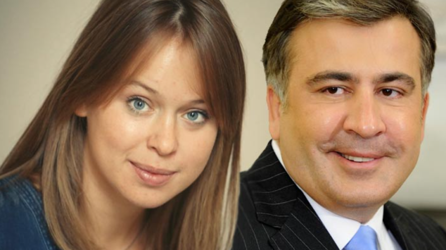 Iubita lui Mihail Saakașvili a vorbit despre divorțul de soția sa