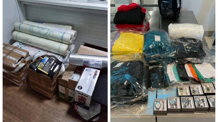 FOTO De toate și pentru toți! Ce mărfuri transportate ilegal au descoperit vameșii timp de câteva ore