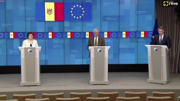 VIDEO Uniunea Europeană, gata să susțină Republica Moldova pentru a ieși din criza energetică. Borrell: E un prim pas