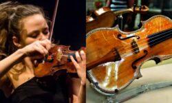 Procurorii PCCOCS susțin că vioara Stradivarius nu ar fi fost declarată. Ce statut are violonista celebră din Moldova?
